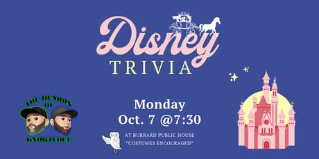 Disney Trivia Night tickets