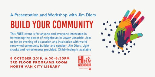 Build Your Community with Jim Diers