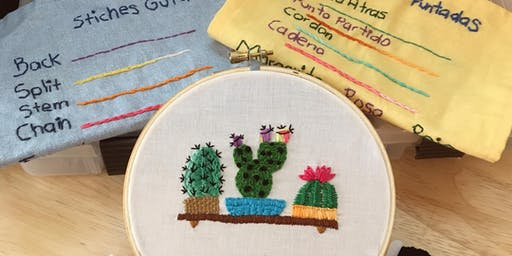 Embroidery Basics - All You Needle is Love (10/19)
