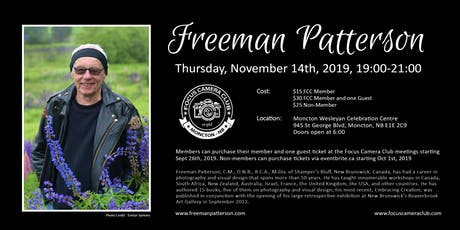 Freeman Patterson tickets