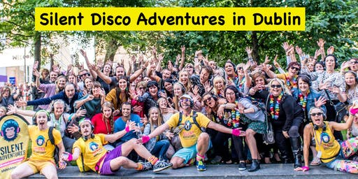 A Silent Disco Adventure Tour in Dublin