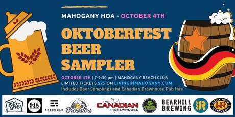 Oktoberfest Beer Sampler tickets