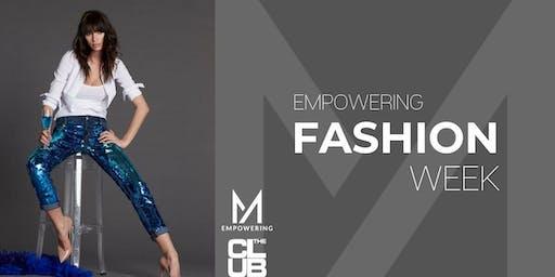 17 settembre- ORE 22.00-22.30 FREE ENTRY- MFW Fashion show Milena Andrade