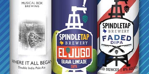 SpindleTap Brewery - September Beer Release!
