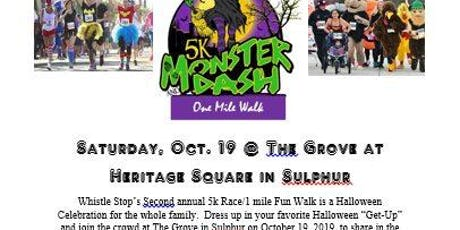 Whistle Stop's Monster Dash tickets