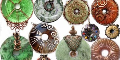 Jade Donut Wire Wrap class with Marggi at Ipso Facto tickets