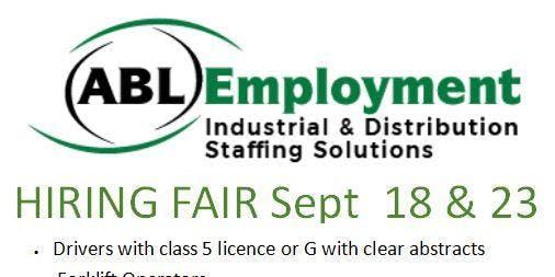 ABL Employment Hiring Fair