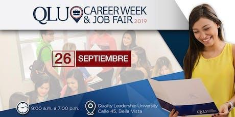 Career Week & Job Fair QLU 2019 entradas