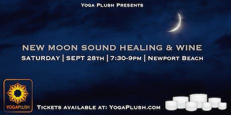 New Moon Sound Healing & Wine tickets