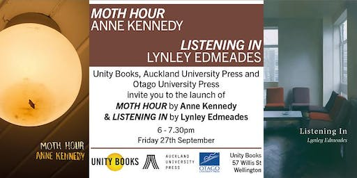 Double Poetry Book Launch: Anne Kennedy & Lynley Edmeades