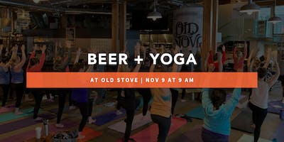 Beer + Yoga at Old Stove Brewing Co