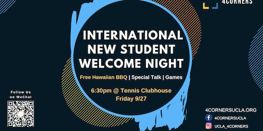 UCLA International Student Welcome Night