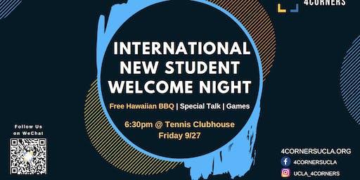 UCLA International Student Welcome Night