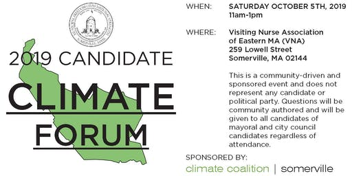 Somerville 2019 Candidate Climate Forum