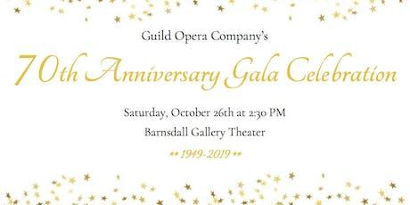Guild Opera 70th Anniversary Gala tickets