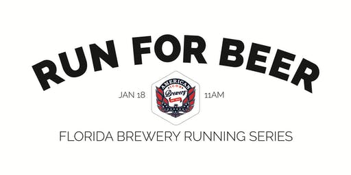 Beer Run - American Icon Brewery | Part of the 2019-2020 Florida Brewery Running Series