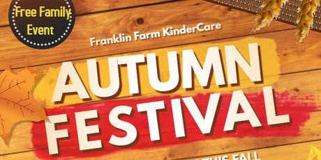 Franklin Farm KinderCare Fall Festival October 18th tickets