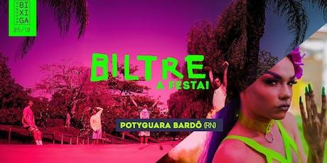05/10 - BILTRE (RJ) E POTYGUARA BARDO (RN) NO ESTÚDIO BIXIGA ingressos