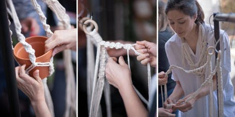 Macrame Plant Hanger Workshop @TheLondonLoom tickets