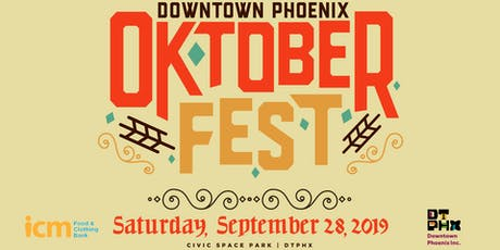 2019 Downtown Phoenix Oktoberfest tickets