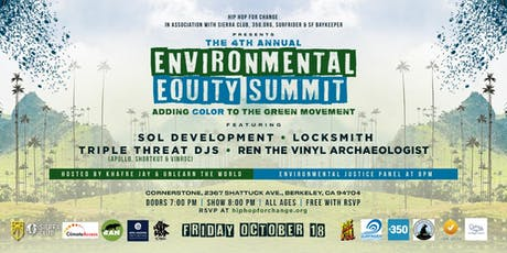 4th Annual Environmental Equity Summit: Adding Color to the Green Movement tickets