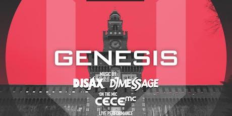 Genesis Every Thursday at Viberoom biglietti