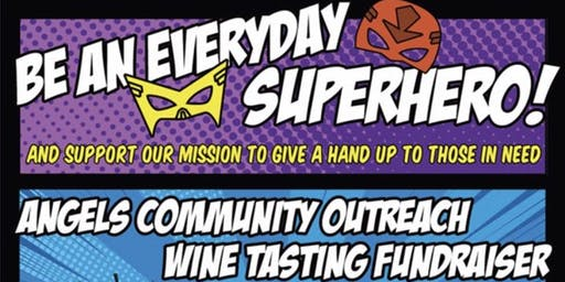 Superhero Wine Tasting Fundraiser 2019