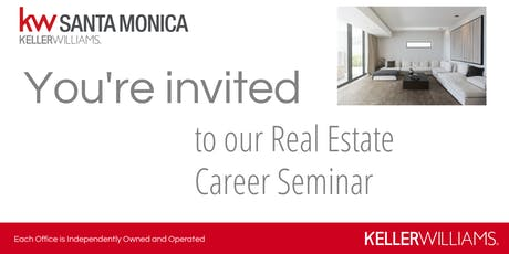 Keller Williams Realty Career Seminar - October 25, 2019 tickets