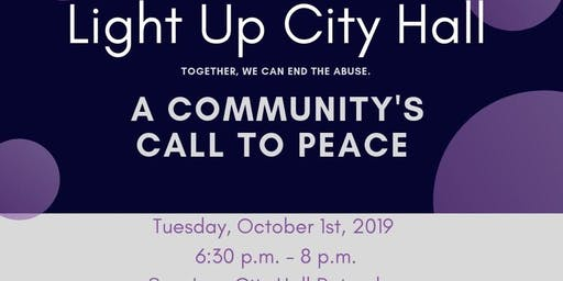 Light Up City Hall: A Community Call to Peace