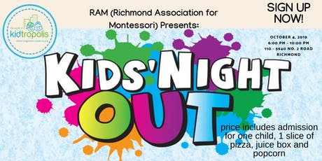 Kids' Night Out tickets