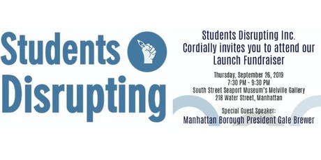 Students Disrupting Launch tickets
