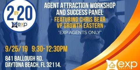 EXP REALTY 2 By 20 Agent Attraction Workshop w/ Chris Bear -EXP Agents Only