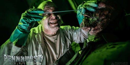 Pennhurst Ayslum Haunted Attractraction