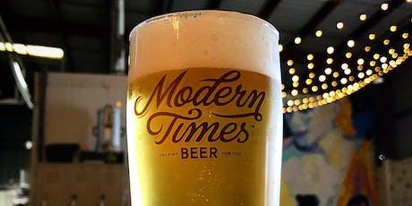 Barons Backroom Beer Pairing: Gourmet Bites & Modern Times Beer tickets