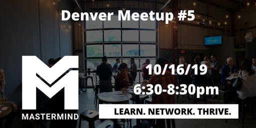 Denver Home Service Professional Networking Meetup  #5