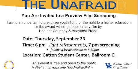The Unafraid: A Preview Screening of the new PBS Documentary tickets