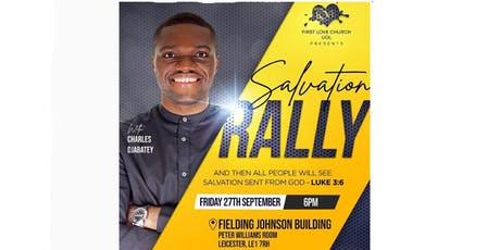 First Love UOL Salvation Rally tickets