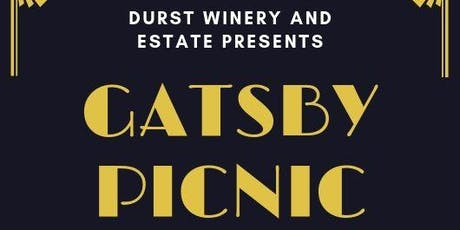 We are havnig our annual Gatsby Picnic September 22 from 12-5pm. tickets
