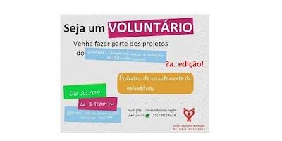 Seja Voluntário do GAABH - Grupo de Apoio à Adoção - Setembro/19