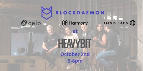 SF Blockchain Meetup with Oasis Labs, Celo, Harmony, and Blockdaemon  tickets