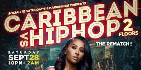 Caribbean vs Hiphop part 2 tickets
