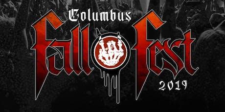 Columbus Fall Fest 2019 tickets