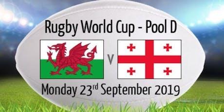 RWC Wales v Georgia tickets