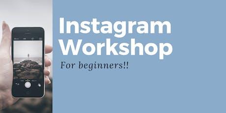 Instagram Workshop for Beginners tickets
