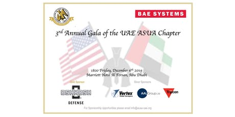 3rd Annual Gala of the UAE AUSA Chapter tickets