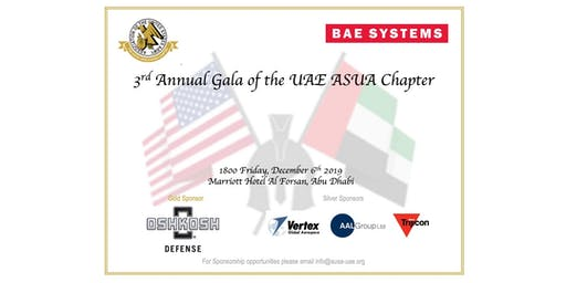 3rd Annual Gala of the UAE AUSA Chapter