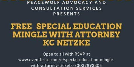 Special Education Mingle with Attorney tickets