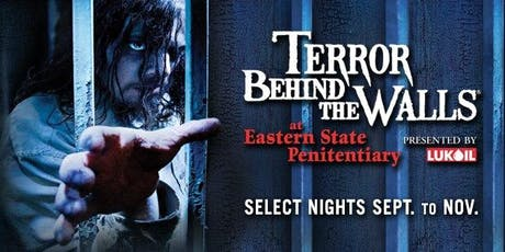 Terror Behind The Walls/Eastern State Penitentiary Bus Tour tickets