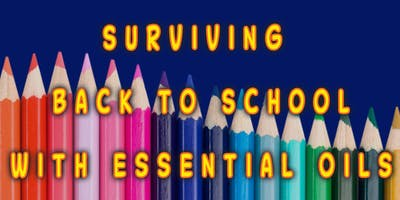 Surviving Back to School with Essential Oils