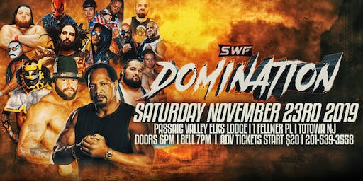 SWF Wrestling Totowa NJ Featuring Ron Simmons